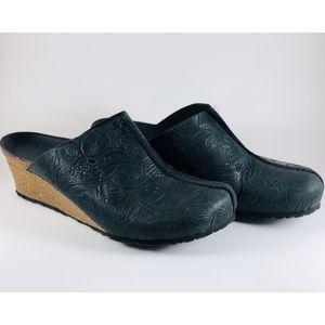 Birkenstock Papillio Dolores Embossed Leather Clog